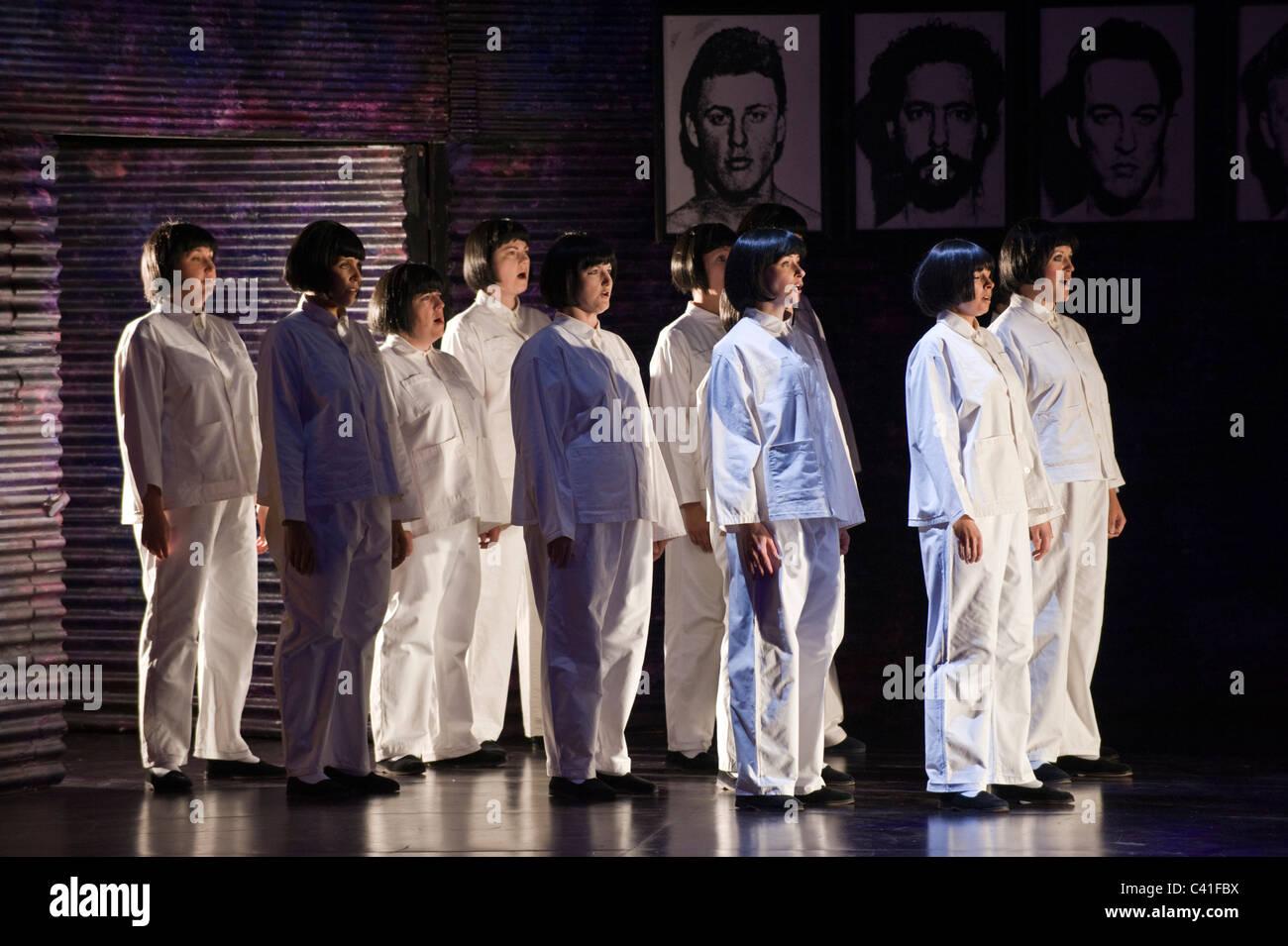 Turandot de Puccini - Welsh National Opera production Été 2011 Banque D'Images