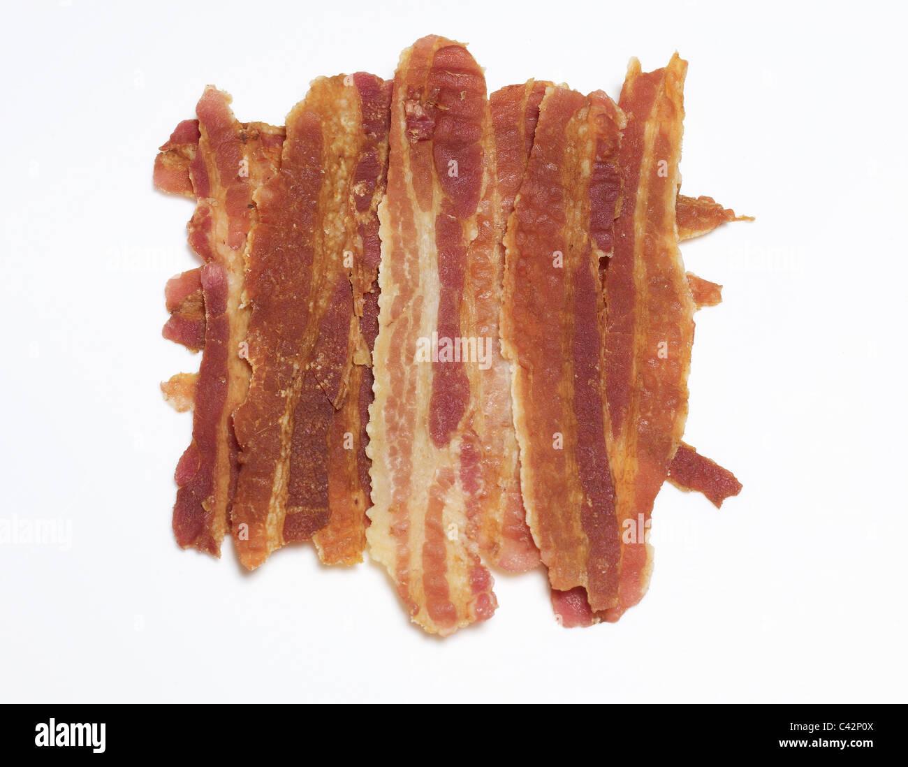Tranches de bacon Photo Stock