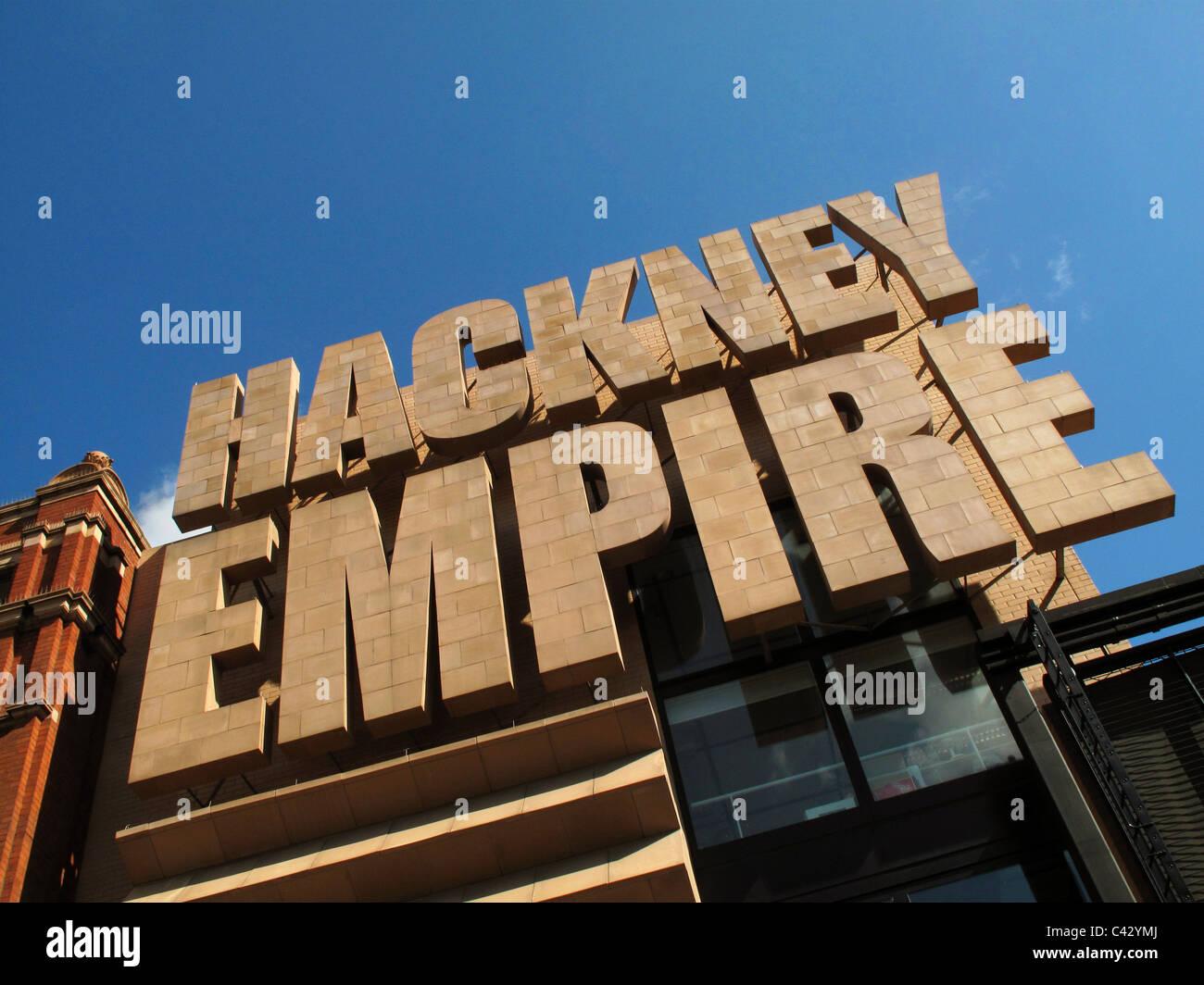 Hackney Empire, Hackney, Londres Photo Stock