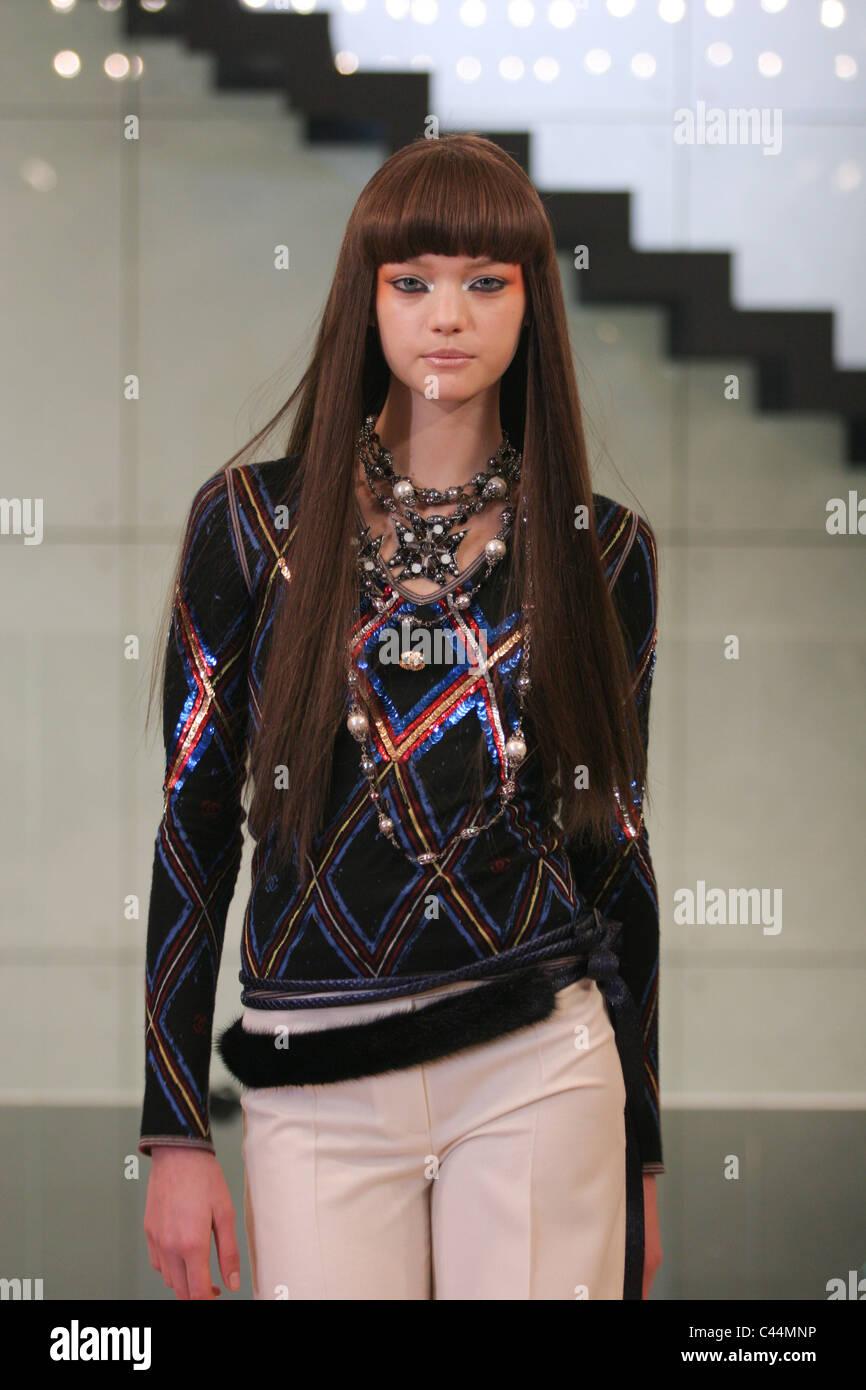 Le mannequin vedette Gemma Ward à  Chanel Coco un Tokyo  fashions montre à  la 1a118281618