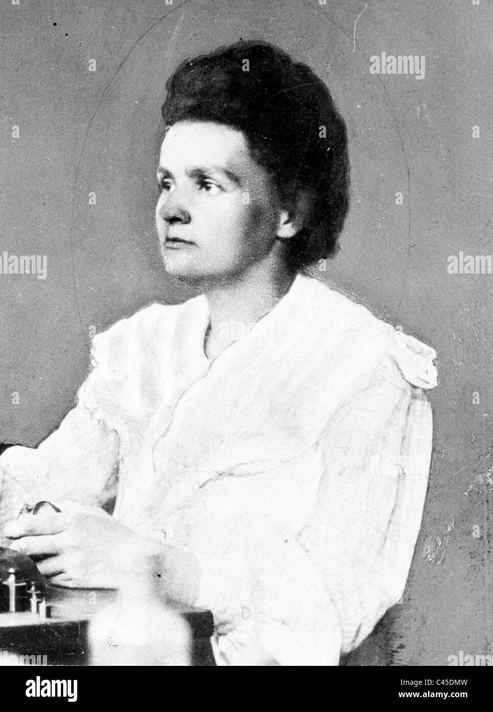 Marie Curie, 1906 Banque D'Images