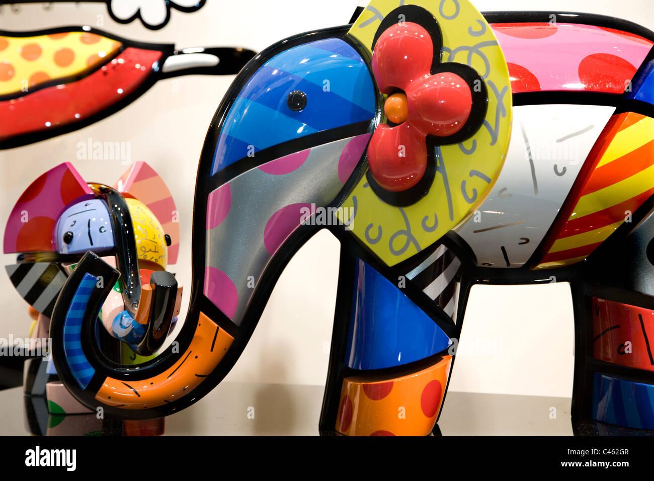 éléphant - jouets Photo Stock