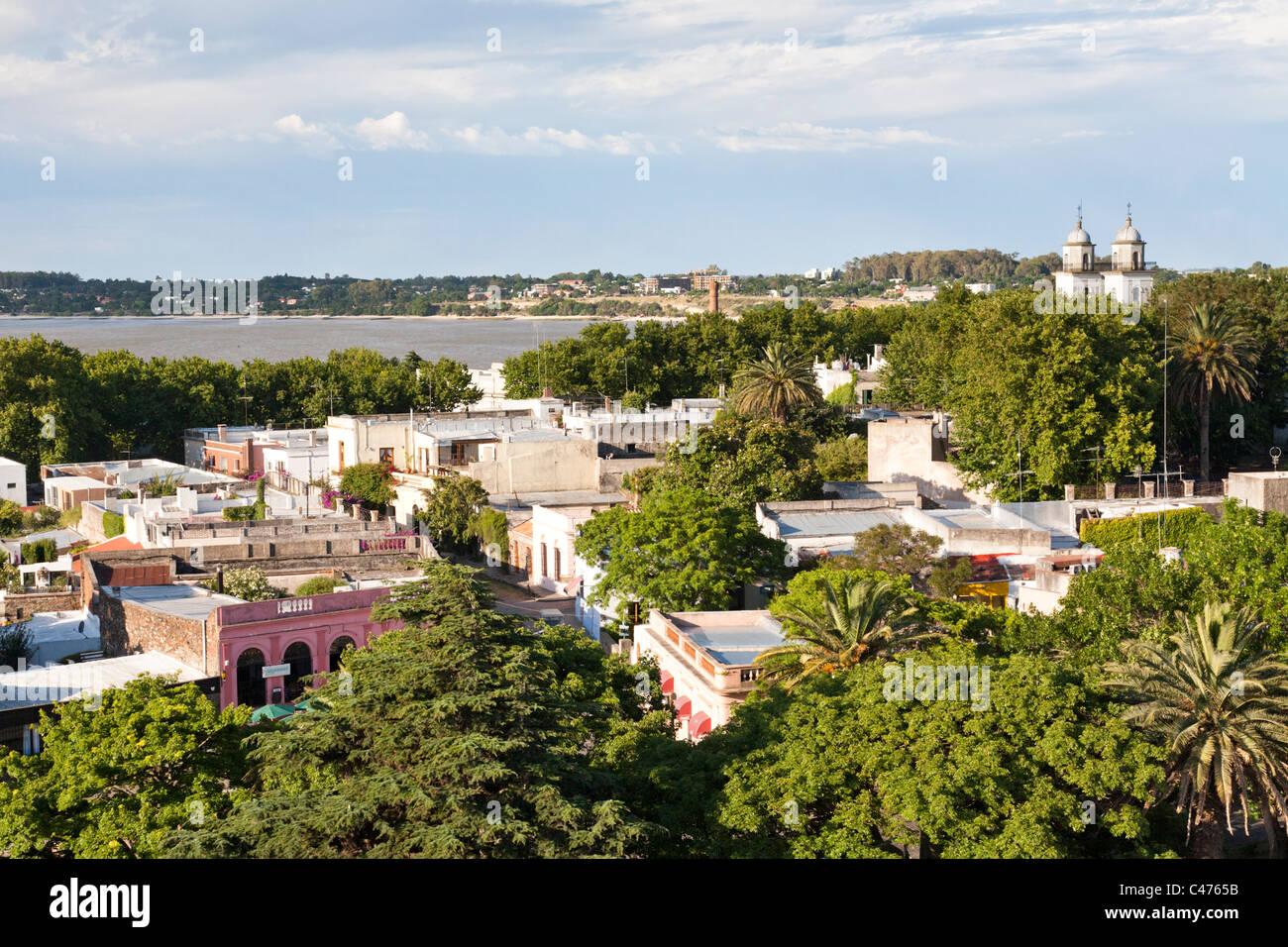 Barrio Historico, Colonia del Sacramento, Uruguay Photo Stock