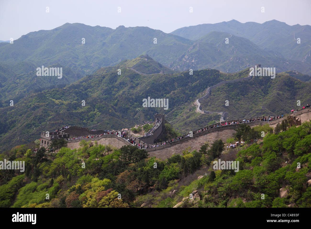 Grande Muraille de Chine, Beijing, Chine Photo Stock