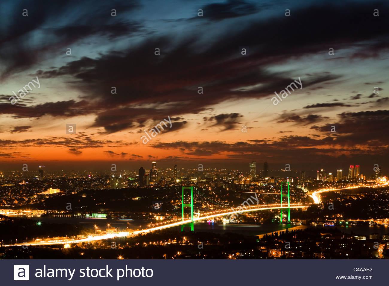 Pont du Bosphore Photo Stock