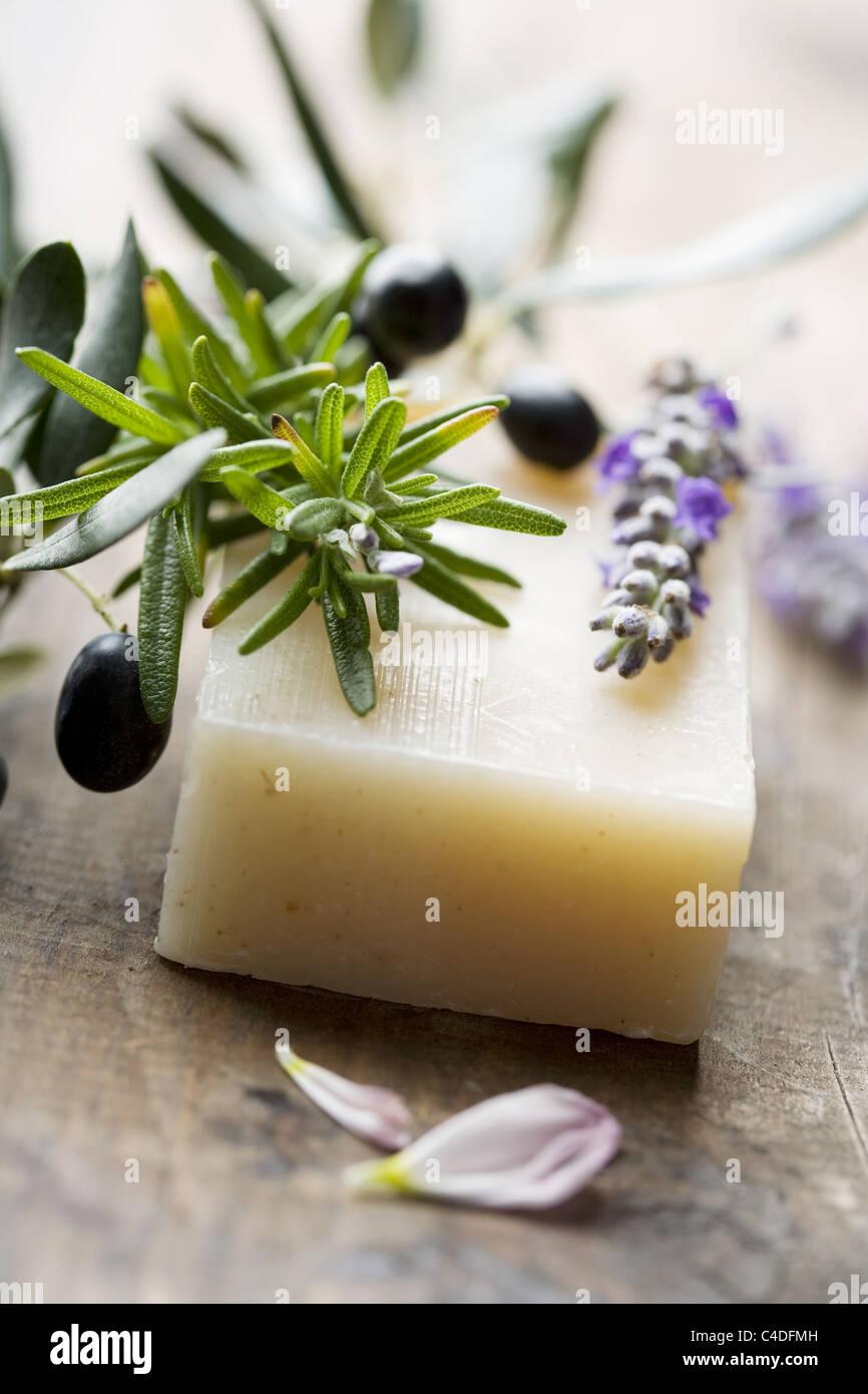 savon naturel Photo Stock