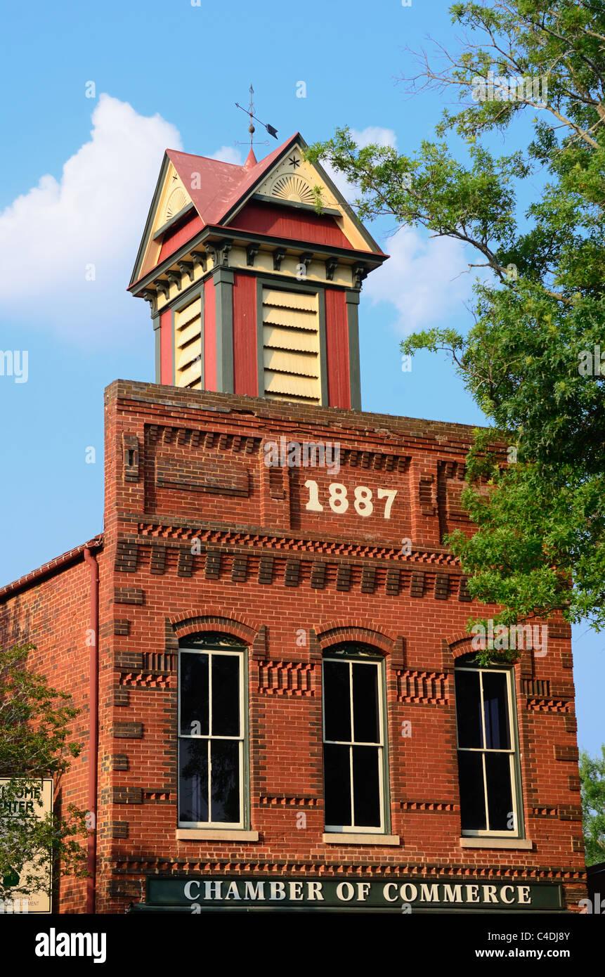 Ancien bâtiment de la Chambre de Commerce Photo Stock