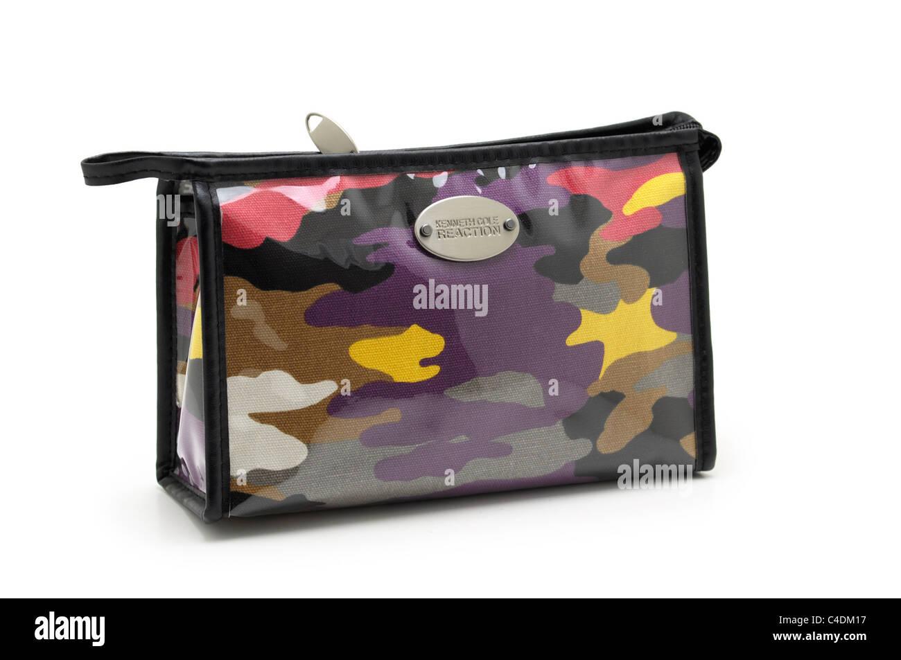 Fourre-tout sac à cosmétiques, Cosmétiques Photo Stock