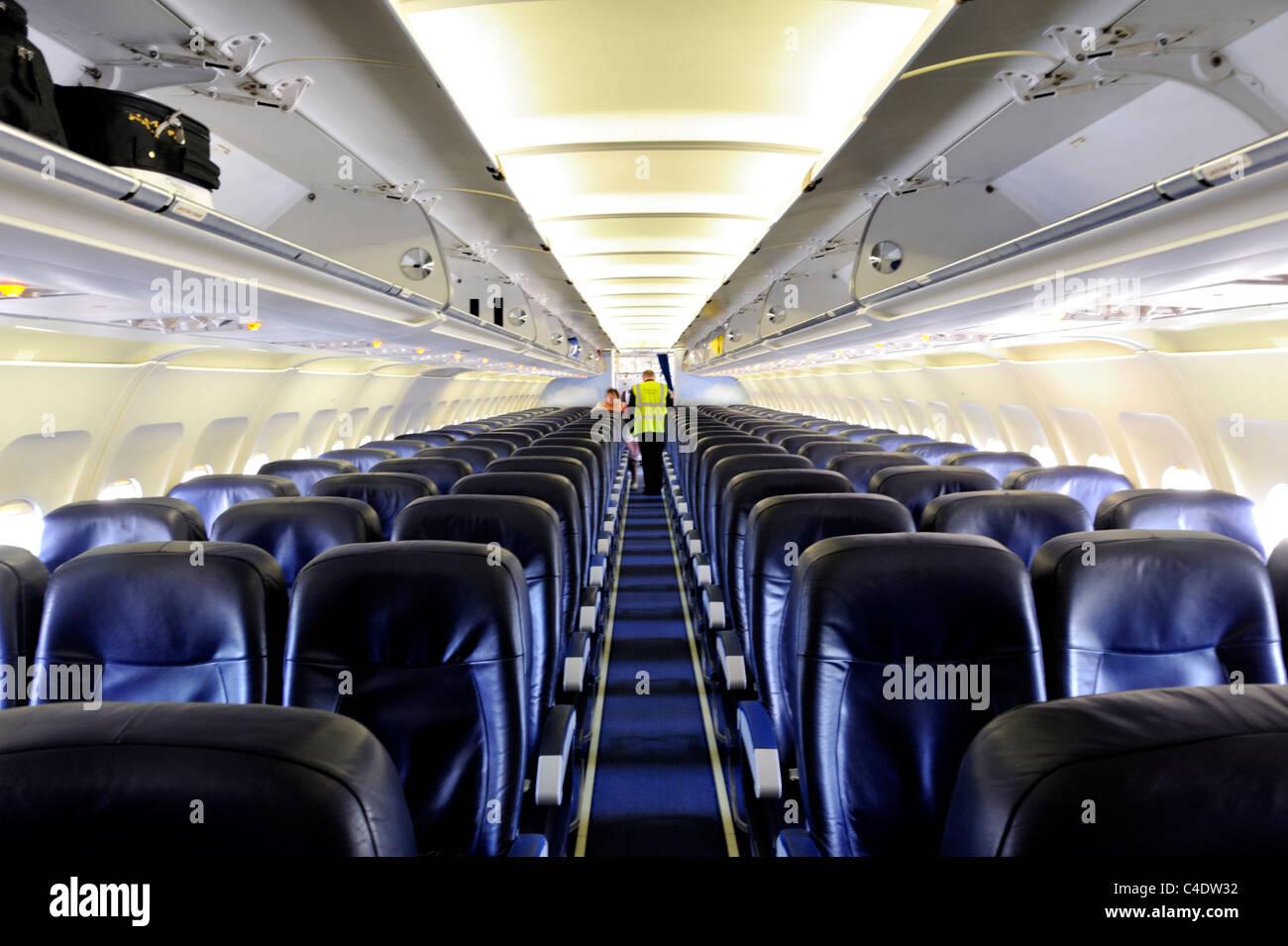 airbus a320 lintrieur de cabine davion de classe de bateaux