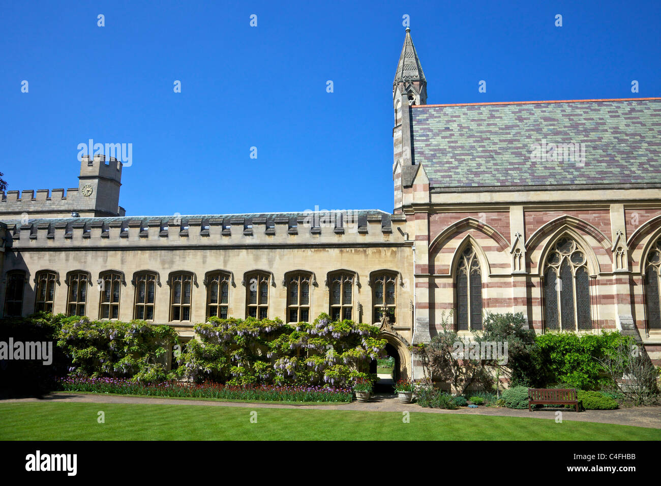 Au Balliol College, Université d'Oxford, Oxfordshire, England, UK United Kingdom, GB, Grande-Bretagne, Photo Stock