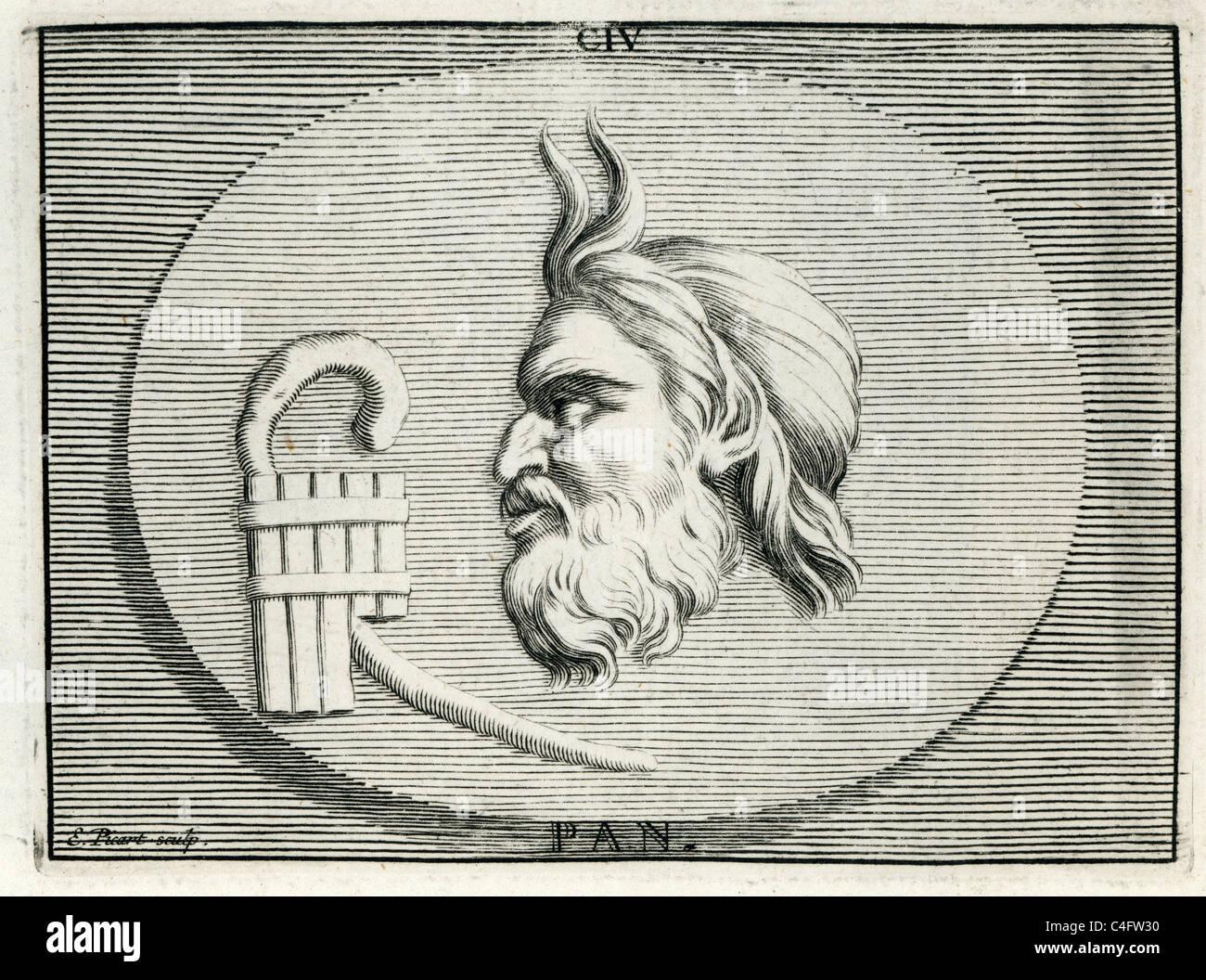 Portrait Classique De Pan Dans La Religion Et La Mythologie