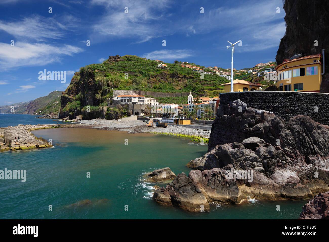 Ponta do Sol, à Madère. Photo Stock