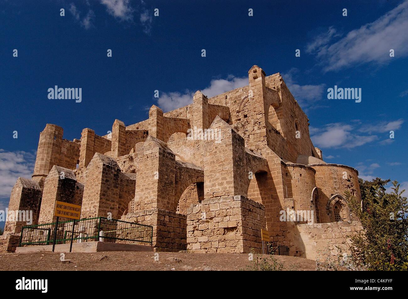 Église historique Magosa Chypre du Nord Photo Stock