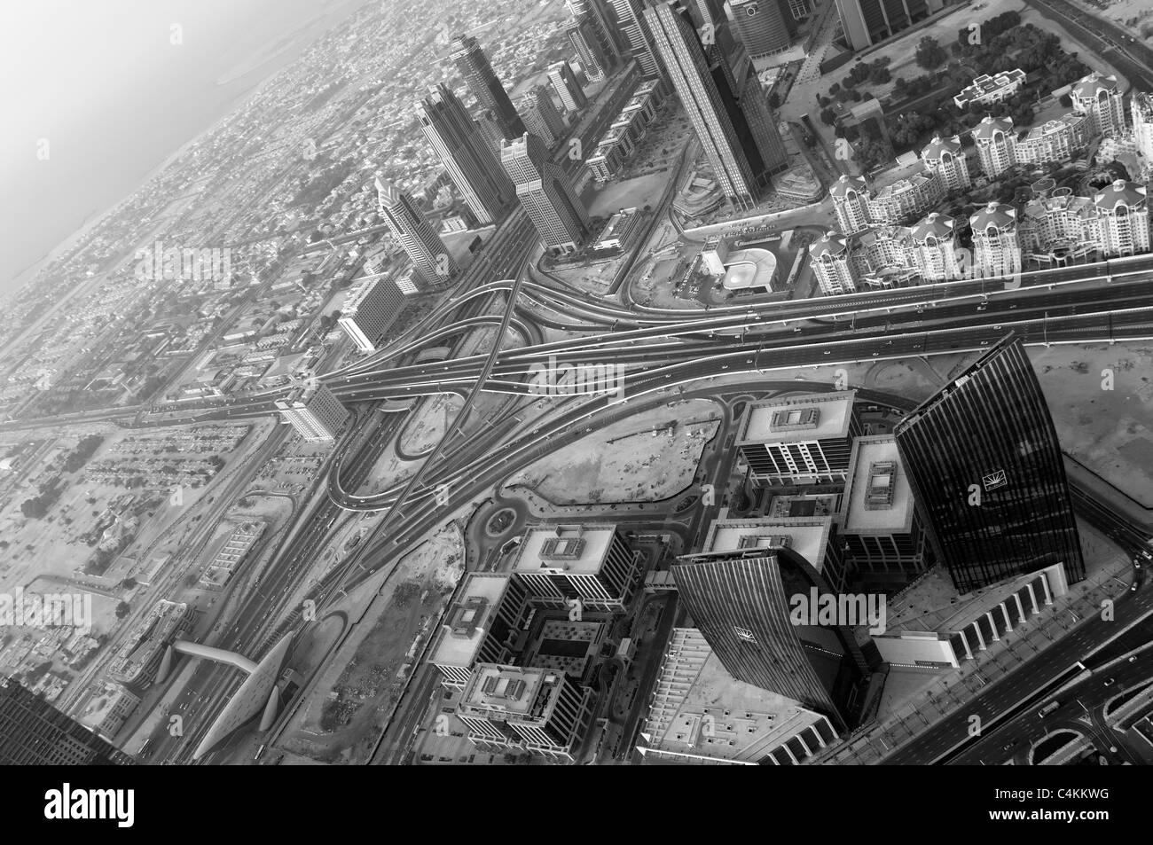 La voirie à Dubaï Photo Stock