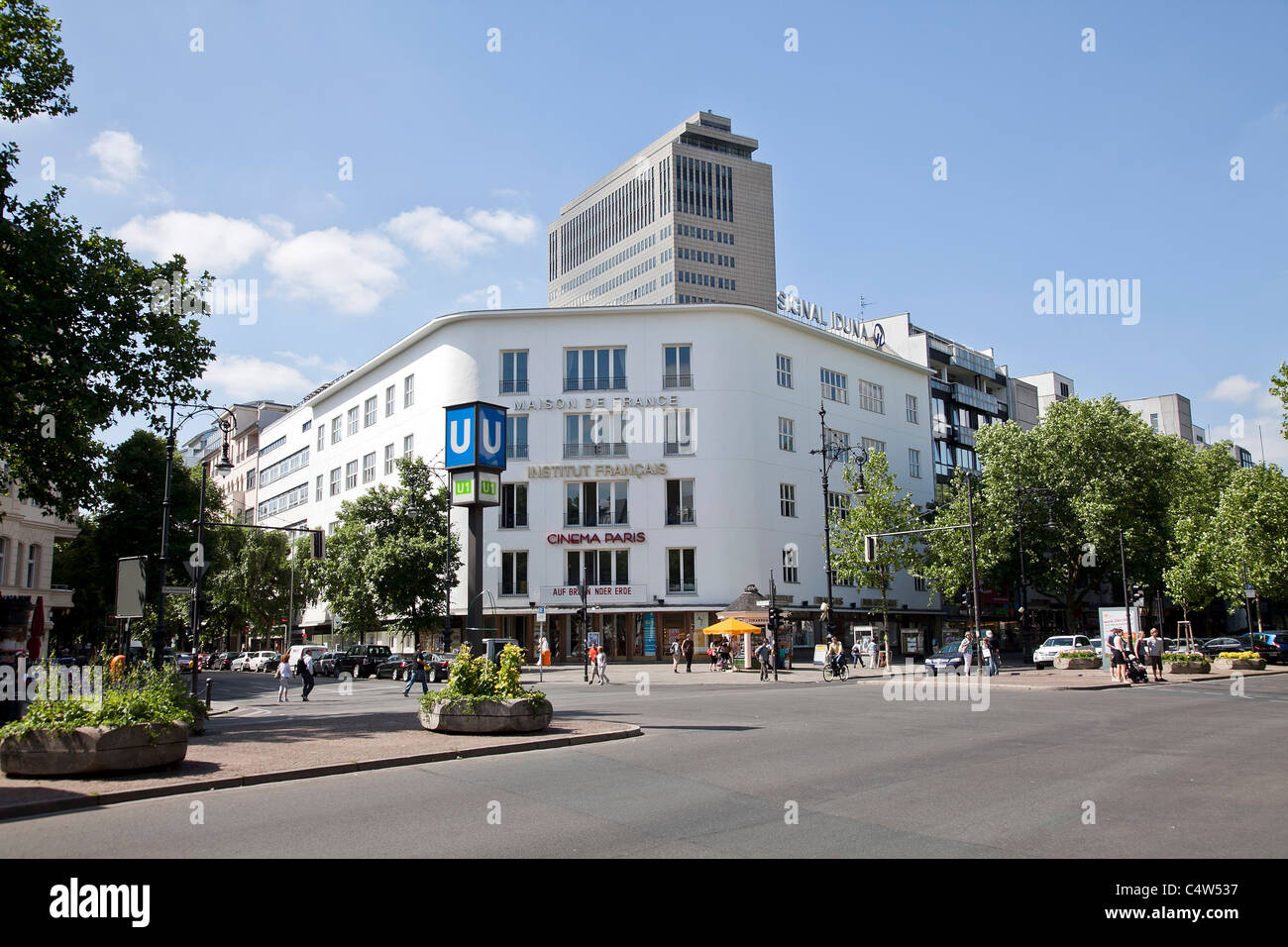 Allemagne, Berlin, Maison de France, Institut Francais du centre culturel français Photo Stock