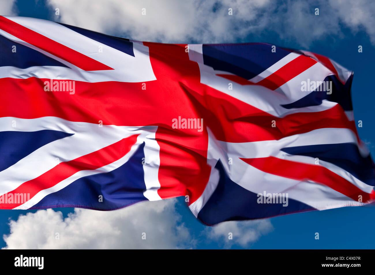 'Union Jack' - le drapeau de l'Union européenne Banque D'Images