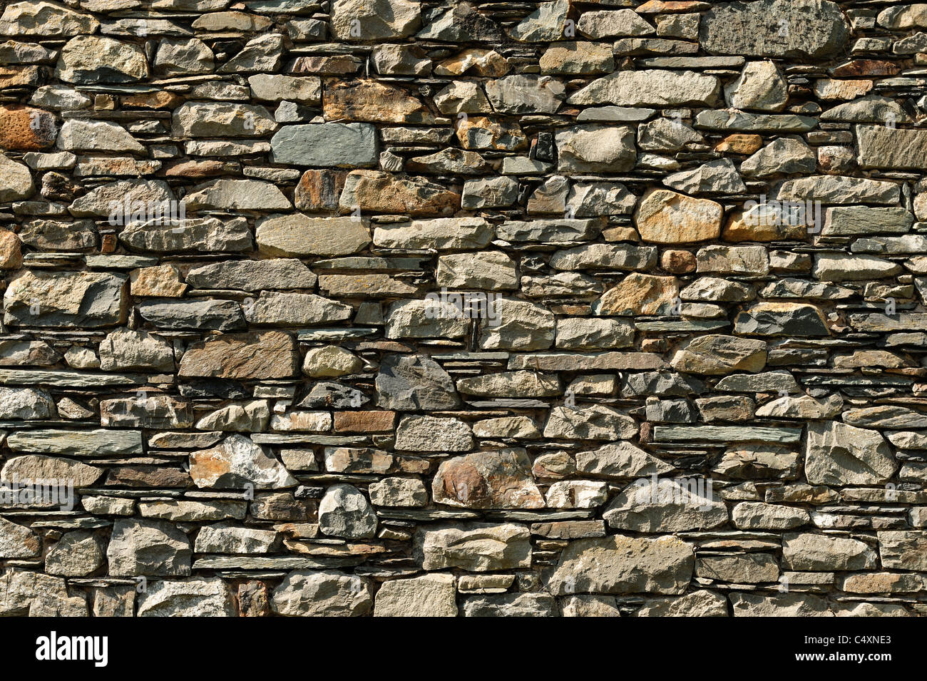Mur de Pierre Photo Stock