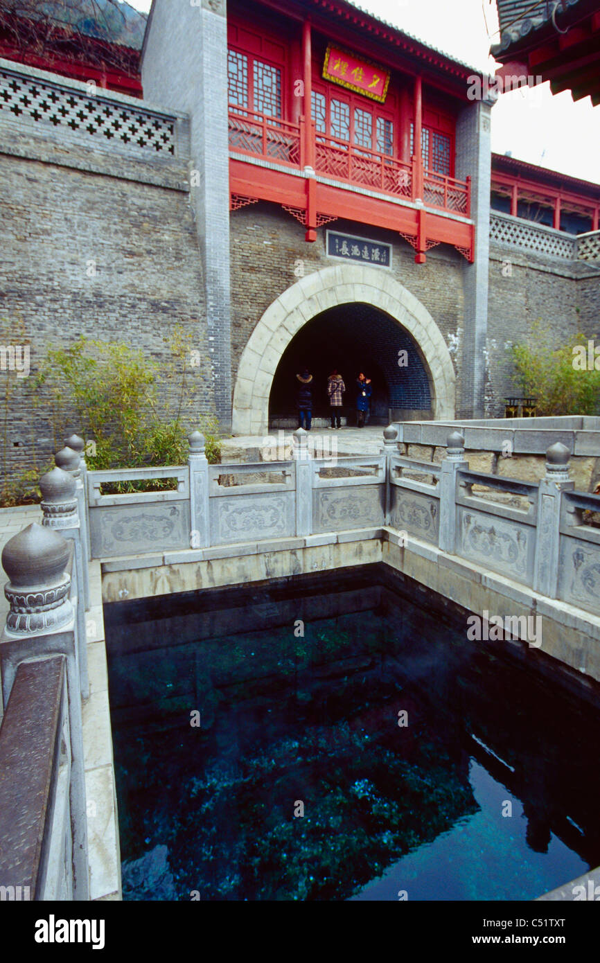 Hot Spring Piscine de Huaqing , Shaanxi, Chine Photo Stock