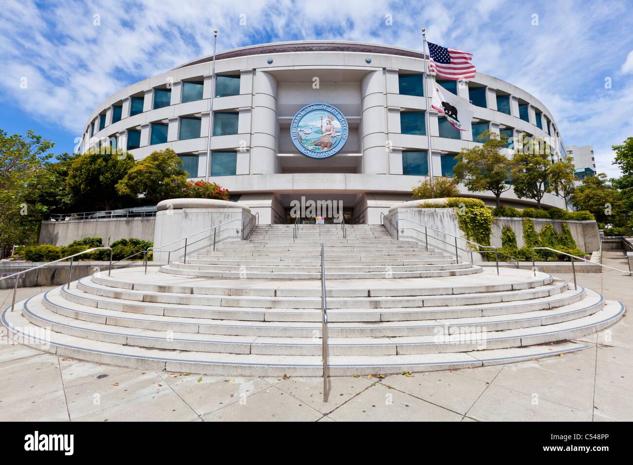 Le grand sceau de l\'état de Californie sur la California Public ...