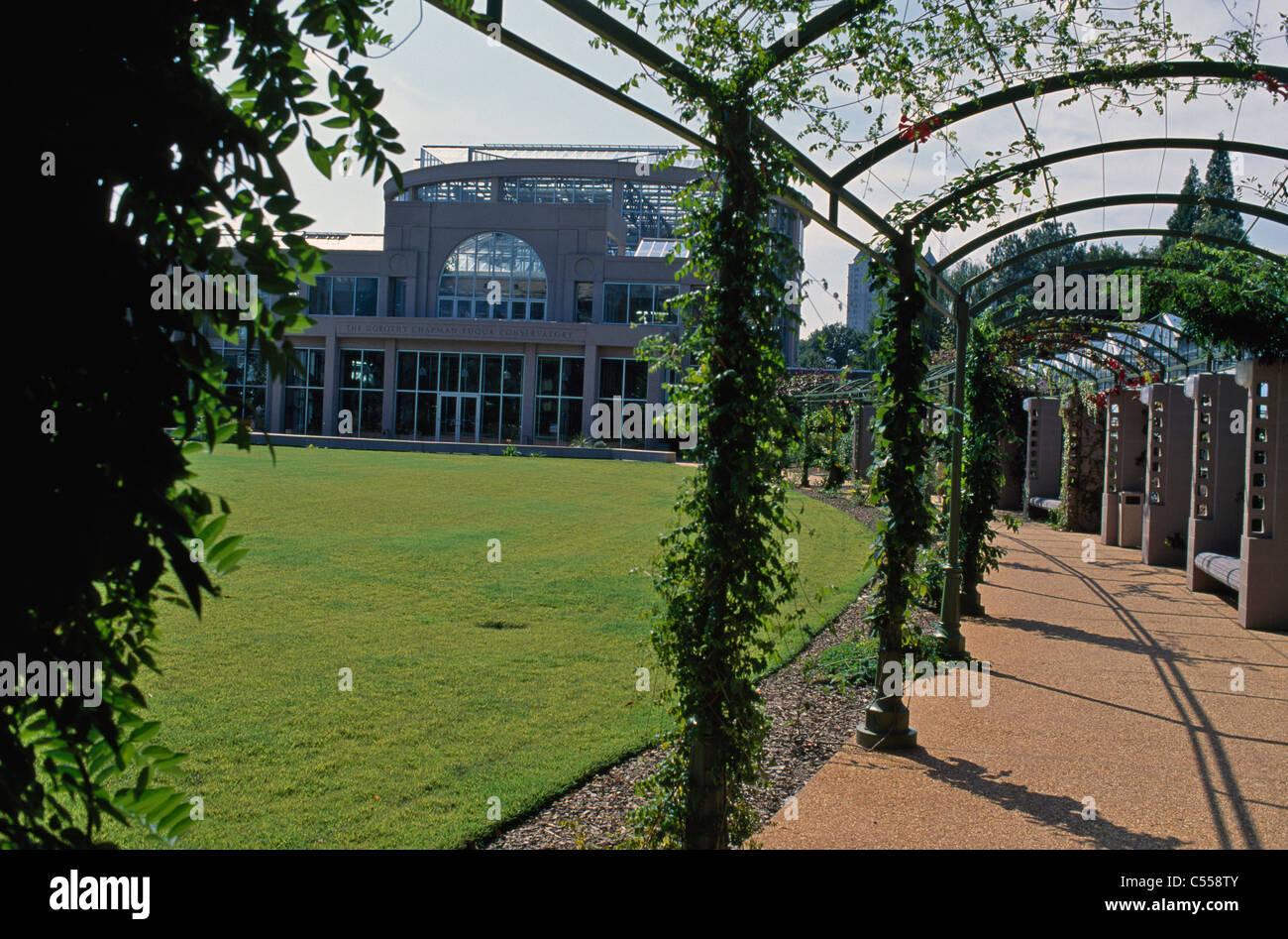USA, Atlanta, Georgie, Botanical Garden Banque D'Images