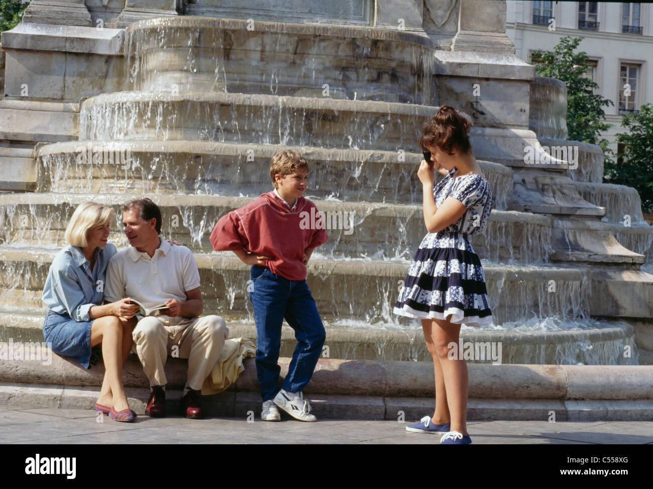 Paris France Banque D'Images