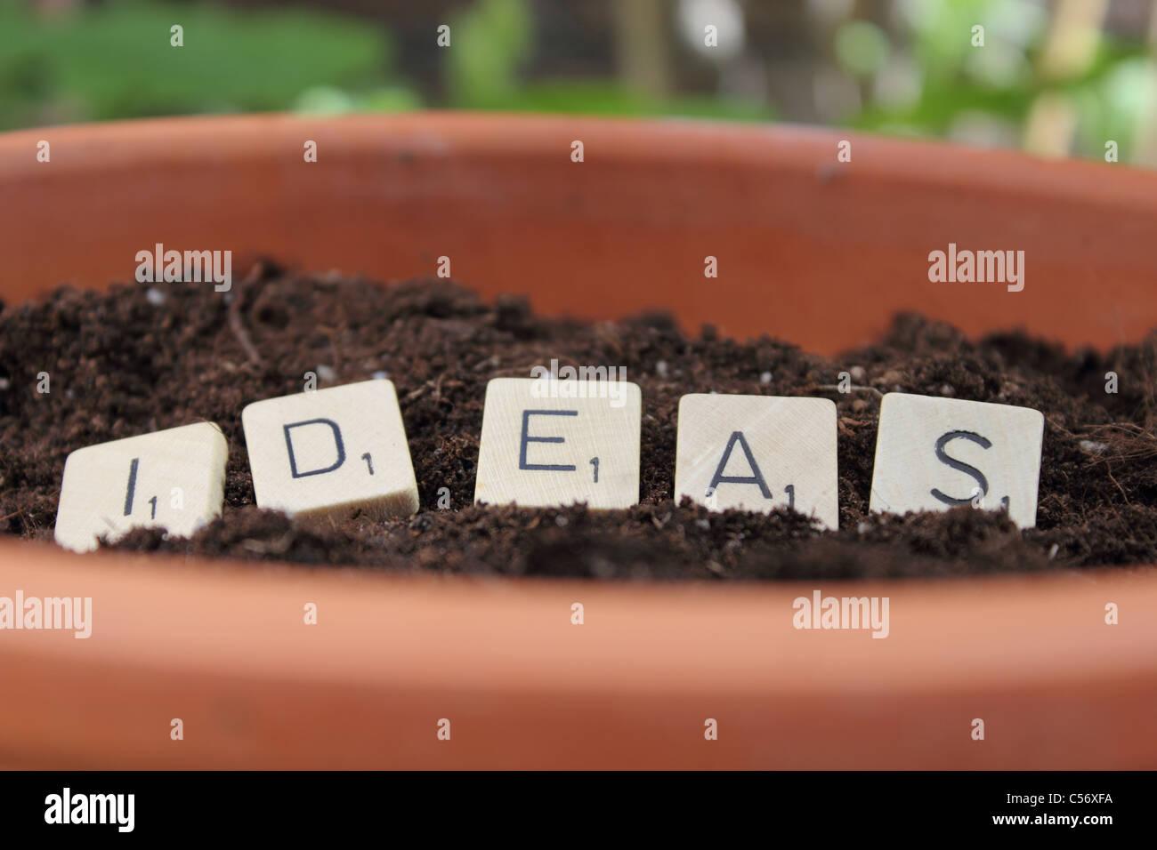 idées de plantation Photo Stock