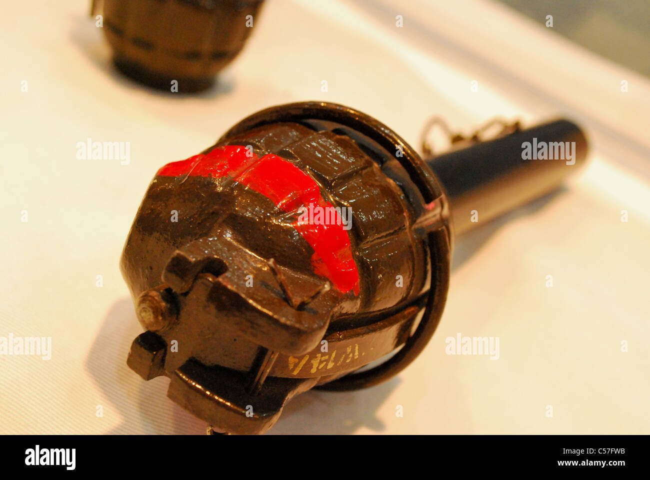 Main grenade36m close-up Banque D'Images