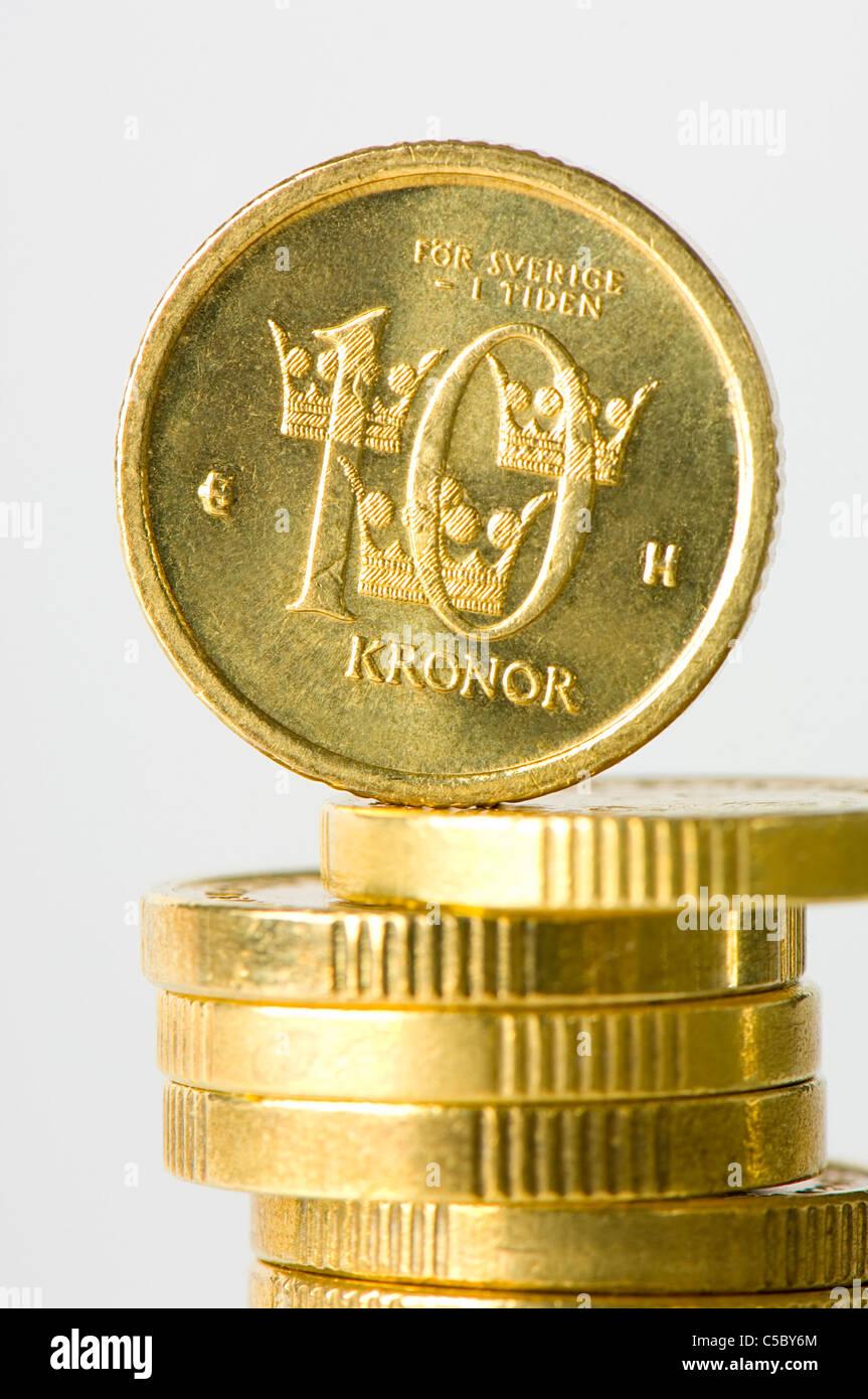 Swedish Krona Coin Photos Swedish Krona Coin Images Alamy