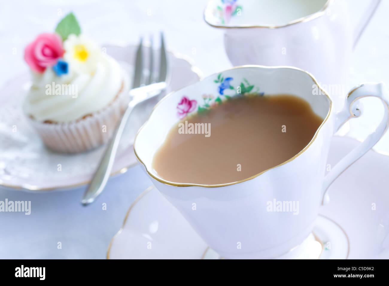 Thé de l'après-midi Photo Stock