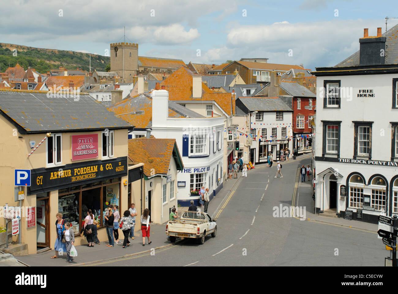 Lyme Regis Banque D'Images