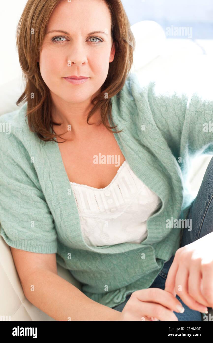 Femme en bonne santé Photo Stock