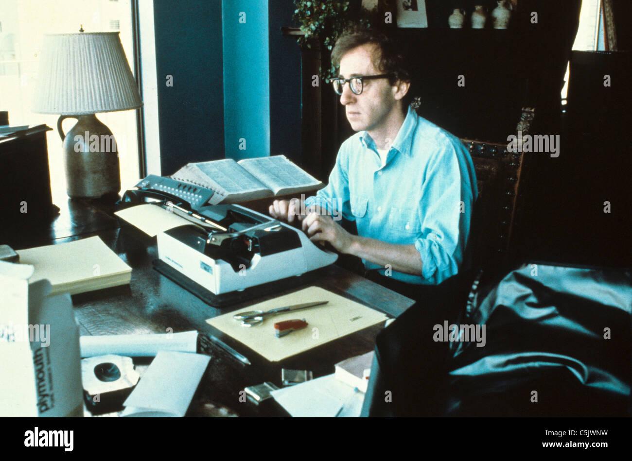 Woody Allen,1980 Photo Stock
