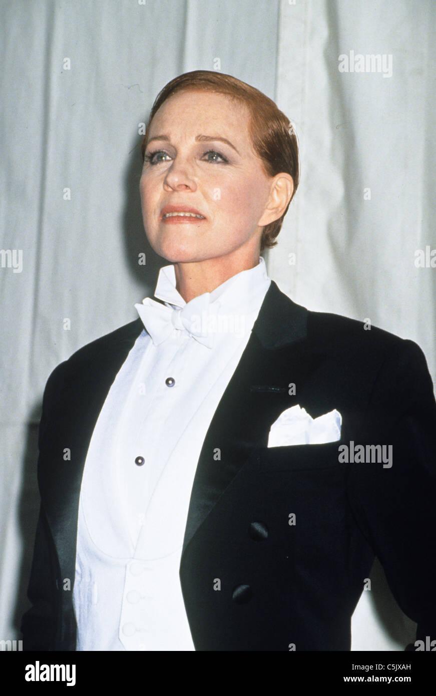 Julie Andrews dans victor victoria, 1982 Photo Stock