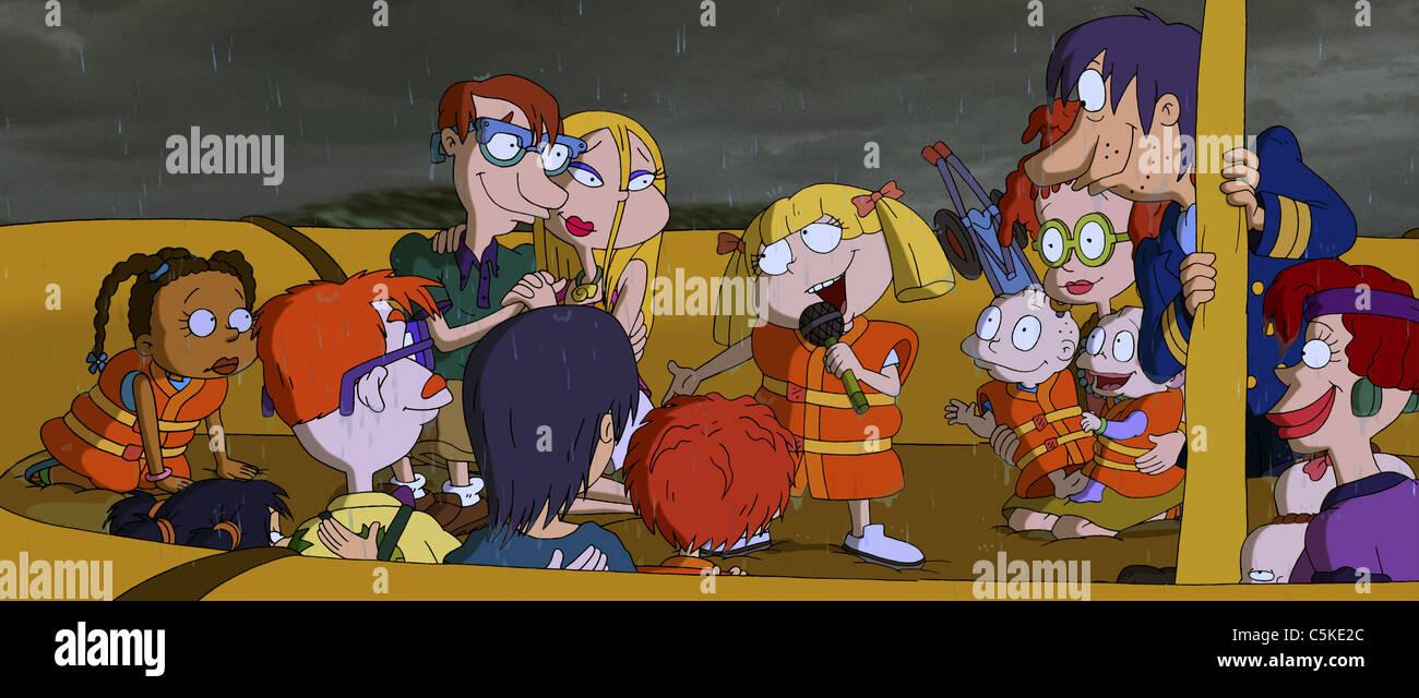 Rugrats Go Wild Année: 2003 Réalisateur: John USA Fra Norton Virgien Animation Photo Stock