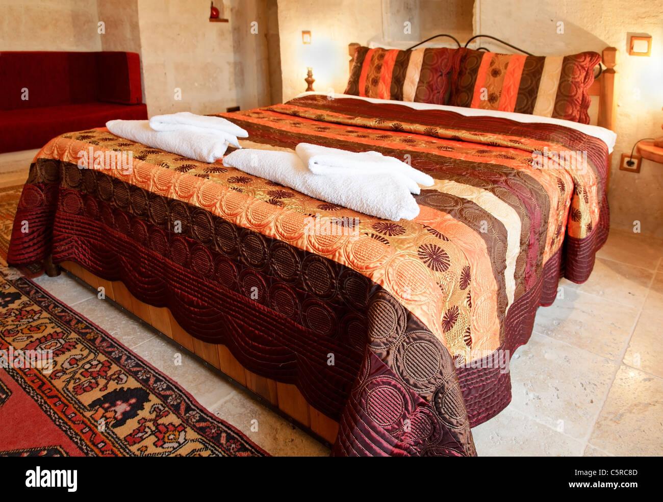Le design intérieur et le niveau de détail des chambres en Turquie