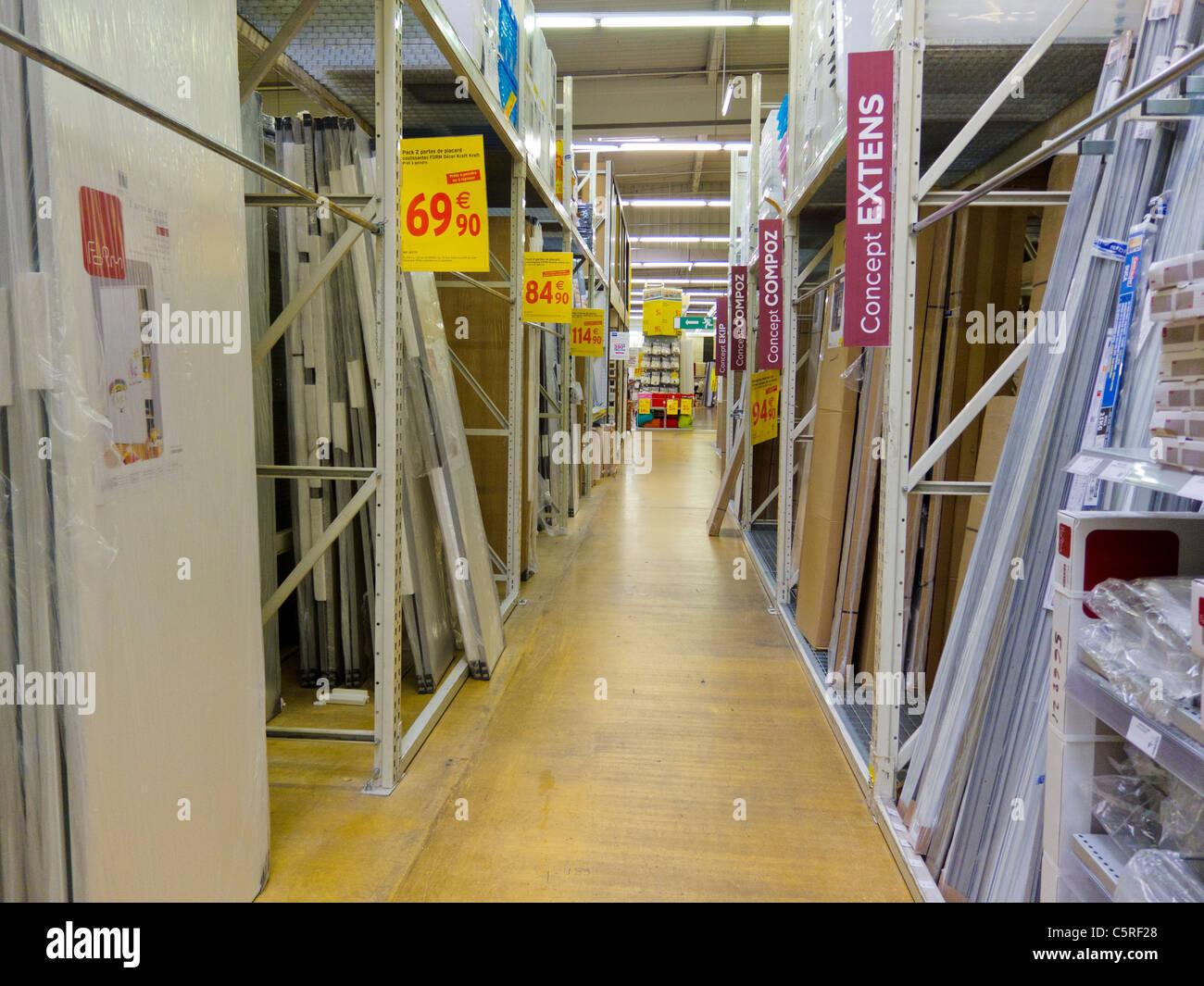 Paris, France, à l intérieur, magasin de matériel de bricolage, des  articles ménagers, Conformara Creiteil ,en Banlieue f3e171202d42