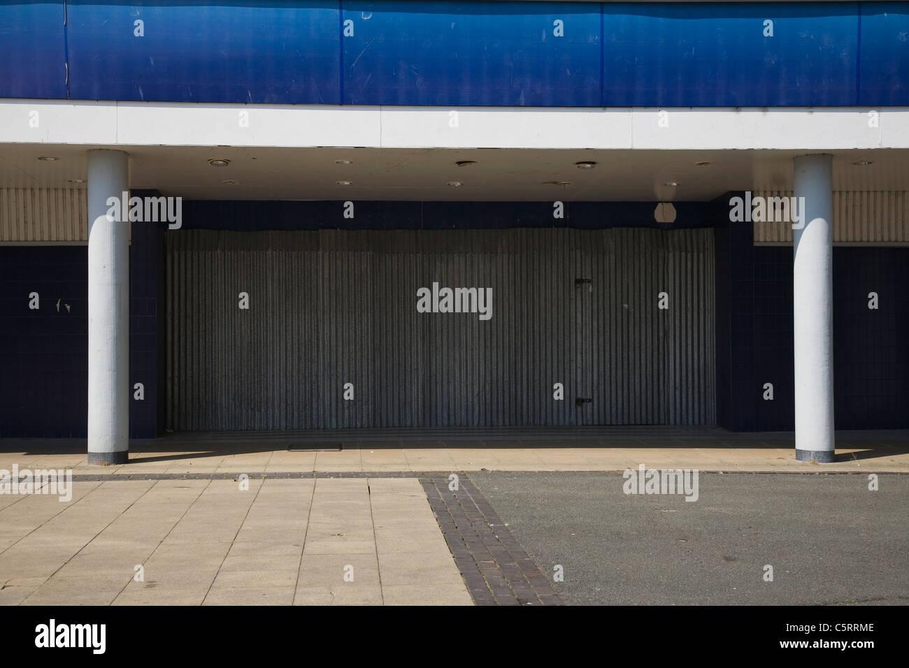 Fermé cinéma du centre-ville Photo Stock