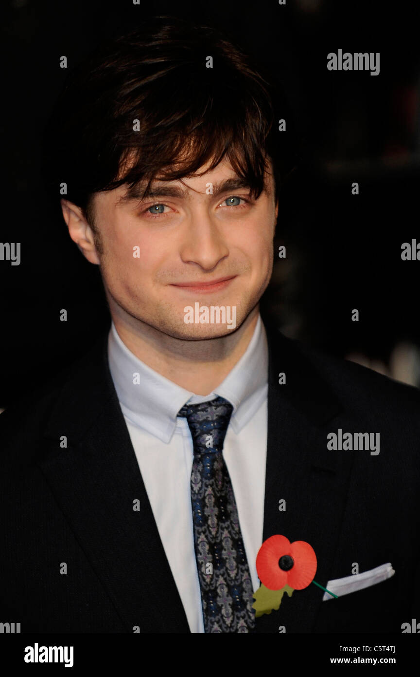 Daniel Radcliffe Head Shot 2010 - Droit d'auteur des coups de tête d'Hollywood Photo Stock
