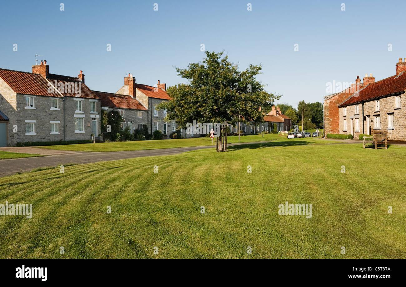 e985bae9f4b876 Vue de Marton village près de Pickering dans Yorkshire du Nord Photo Stock