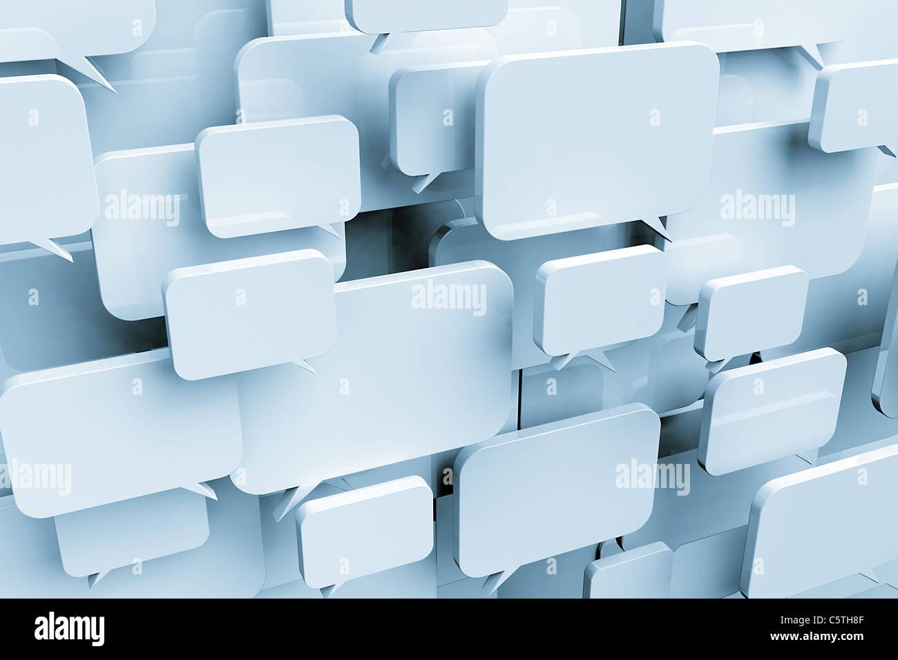 Concept de réseau social Photo Stock