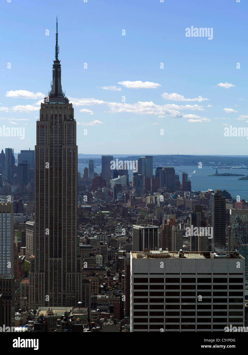 Empire State Building New York Big Apple manhattan Photo Stock