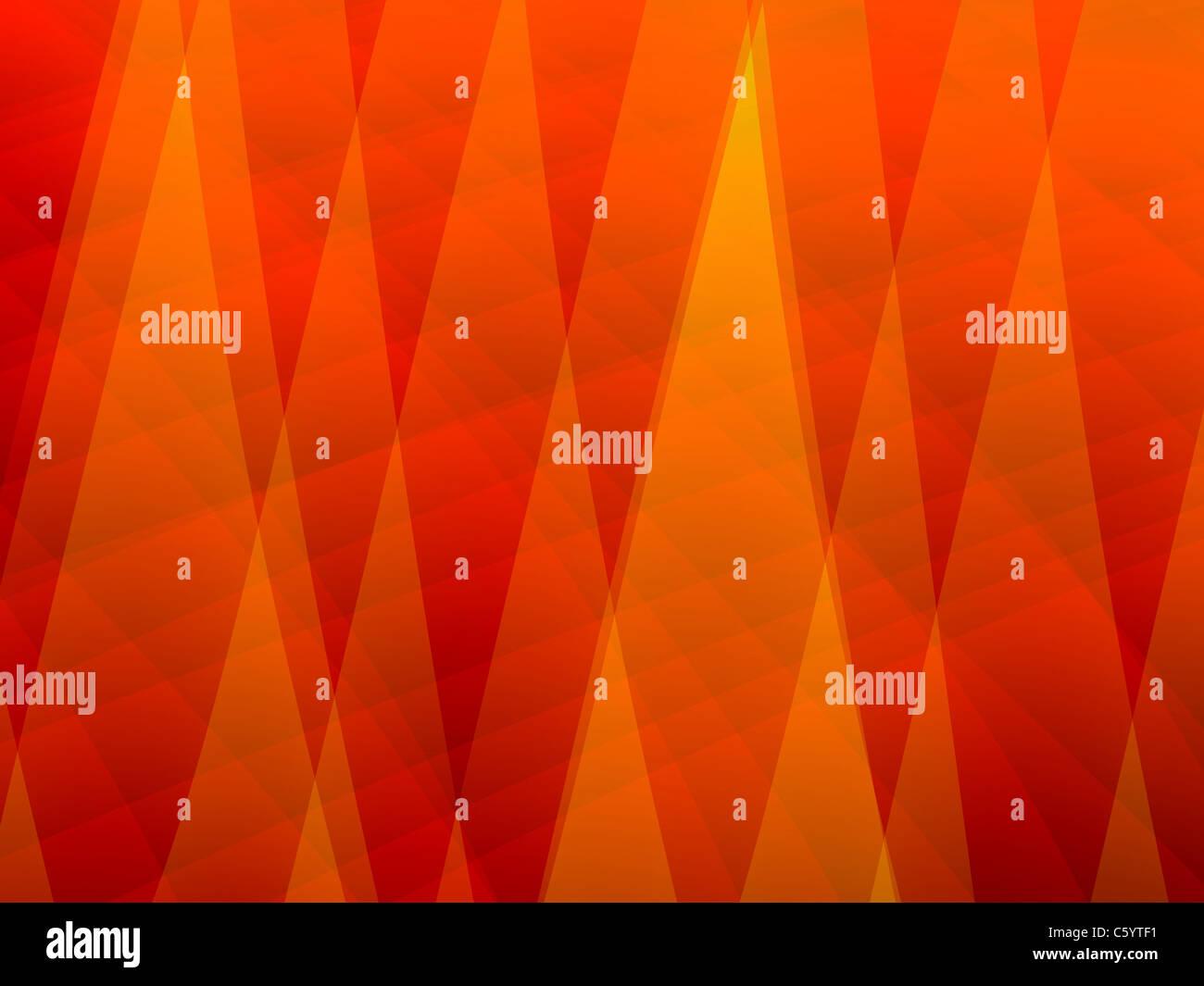 Résumé fond orange Photo Stock