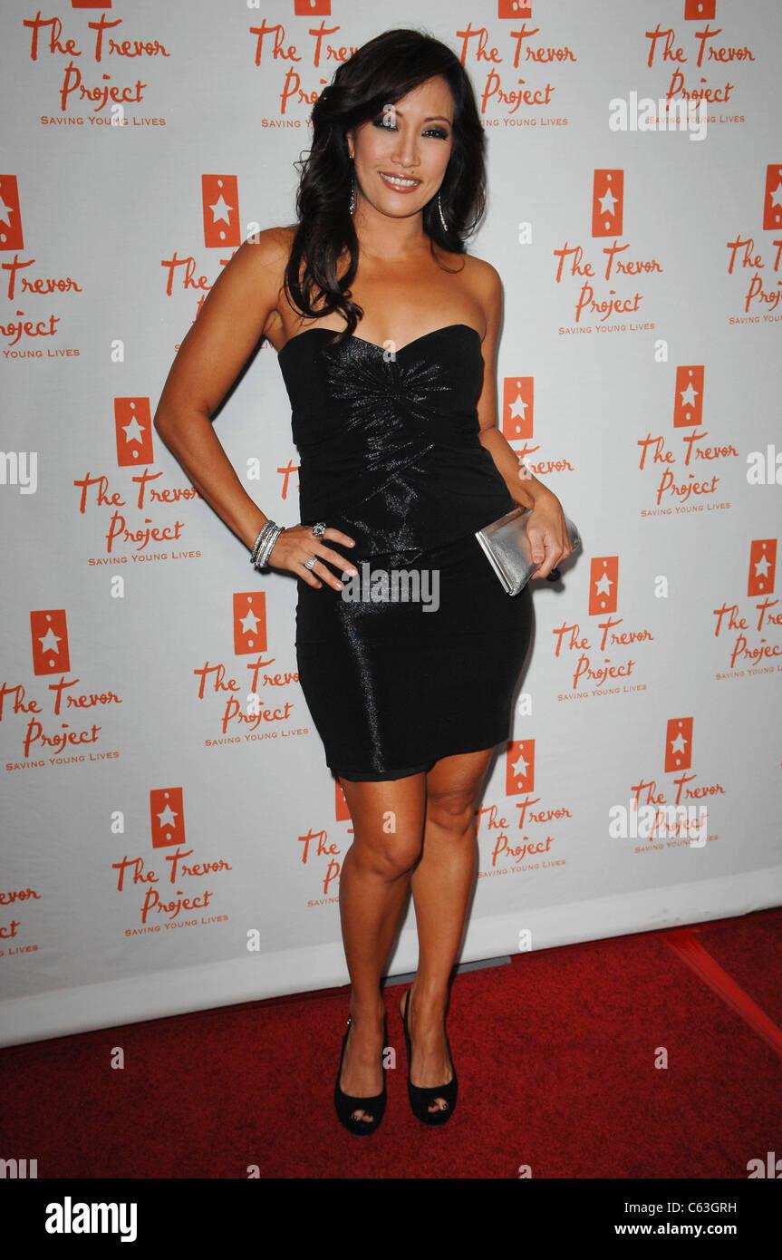 Carrie Ann Inaba aux arrivées de Trevor annuel LIVE, qui profite du projet Trevor, le Hollywood Palladium, Photo Stock