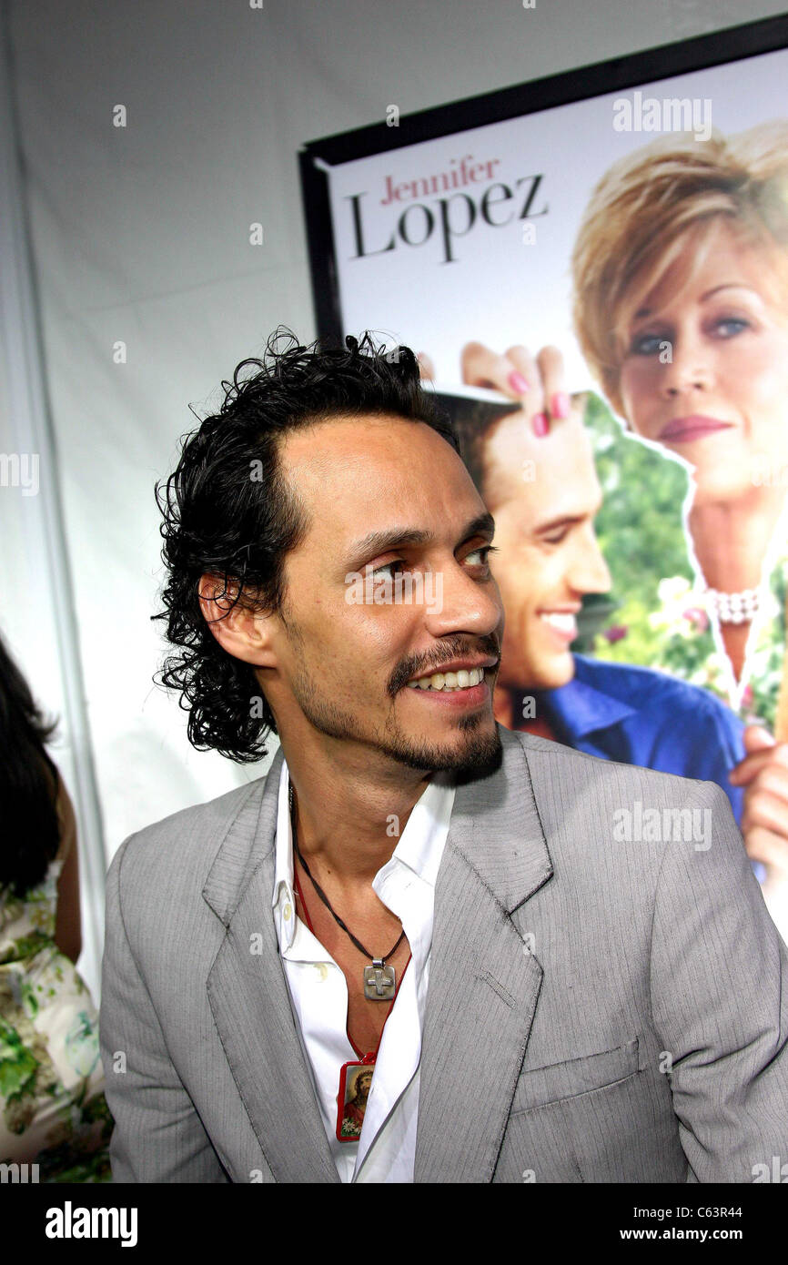 Marc Anthony aux arrivées de MONSTER-IN-LAW Los Angeles Premiere, Mann's National Theatre à Westwood, Photo Stock