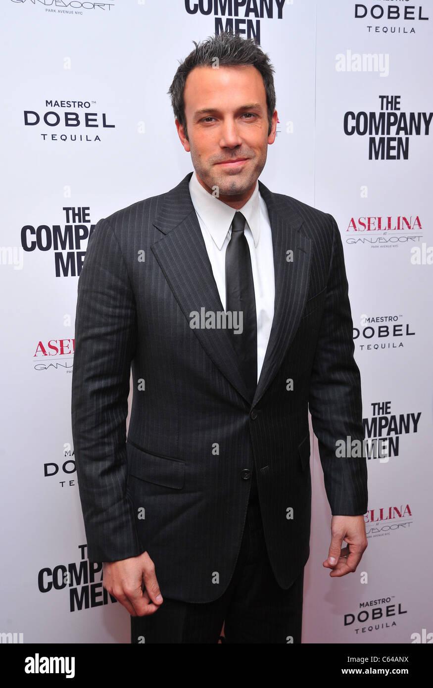 Ben Affleck aux arrivées de l'entreprise Hommes Premiere, le théâtre de Paris, New York, NY Le Photo Stock