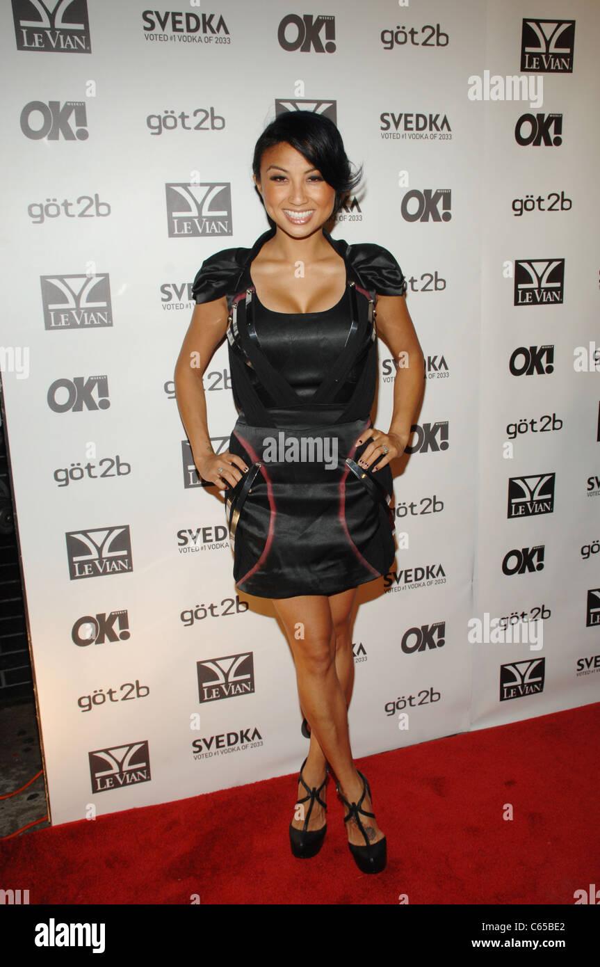 Jeannie Ami aux arrivées pour OK! Cinquième anniversaire du magazine, Avenue, New York, NY Le 13 Photo Stock
