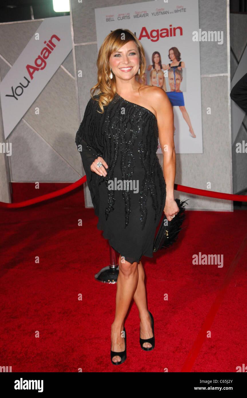 Christine Lakin au niveau des arrivées pour vous revoir Premiere, El Capitan Theatre, Los Angeles, CA Septembre Photo Stock