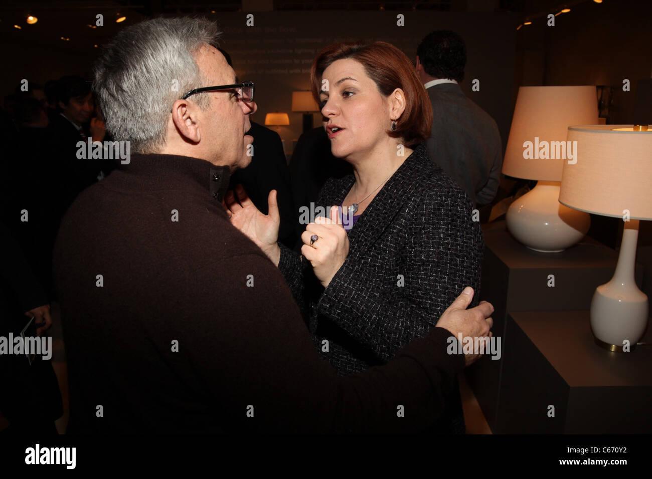 Mitchell Gold, Christine Quinn aussi présents pour la 16e Conférence annuelle des titres NLGJA et têtes d'avantage, Banque D'Images