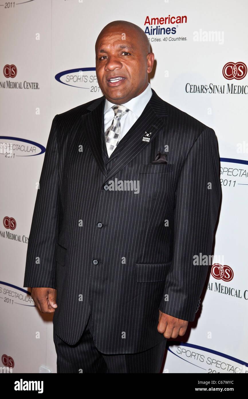 Hue Jackson au 26e anniversaire de l'arrivée spectaculaire des Sports, Hyatt Regency Century Plaza Hotel, Photo Stock