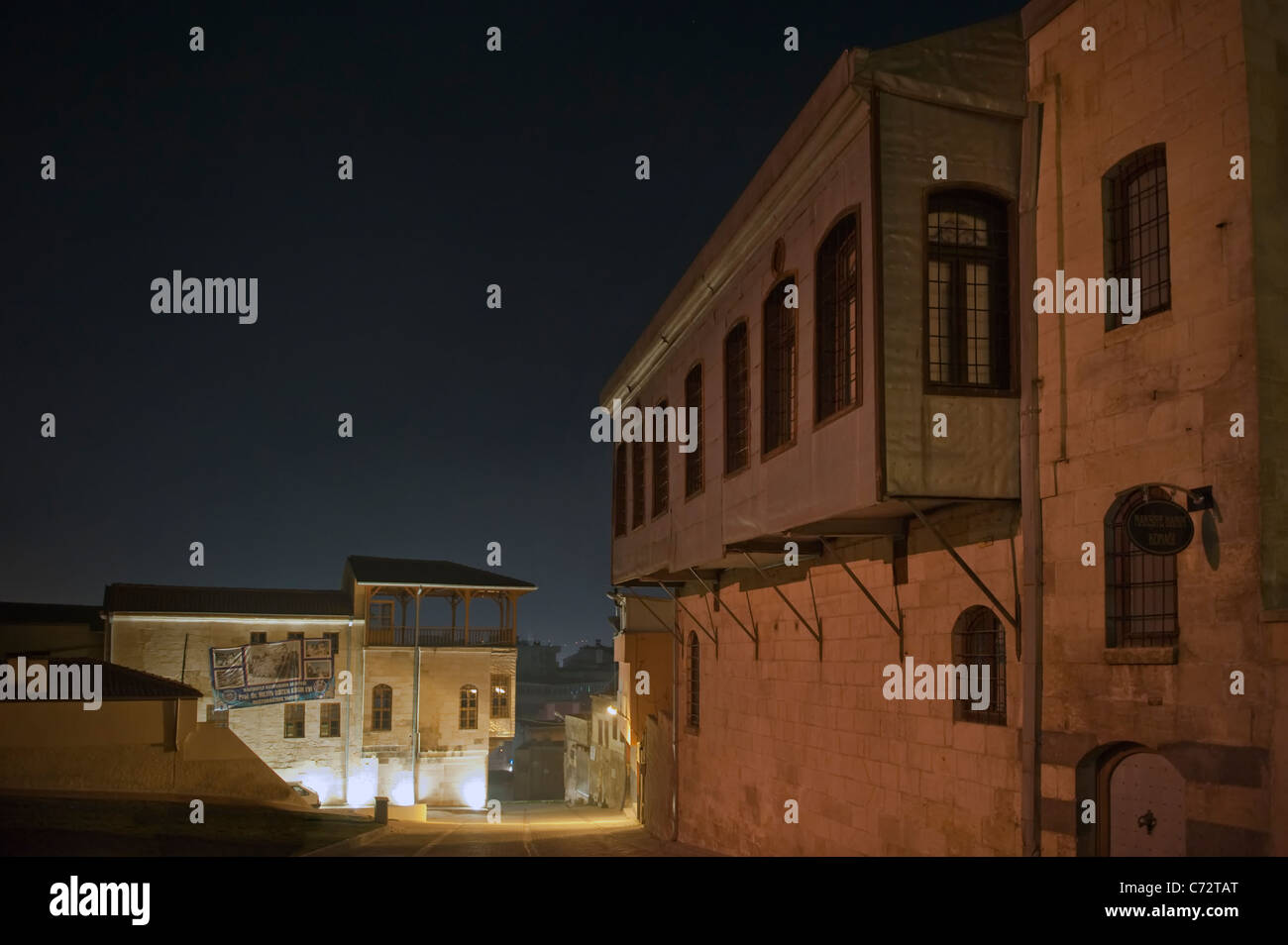 L'architecture historique de Gaziantep Turquie Photo Stock